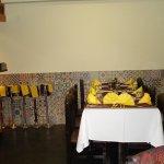 Part of restaurant