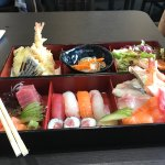 bento came with miso soup £16