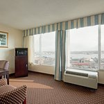 Executive guest rooms offer large, spacious accommodations