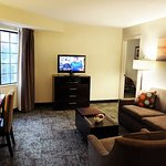 Two Bedroom Suite Living and Dining Area