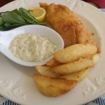 Fish and chips (well, Cyprus did used to be under British rule!)