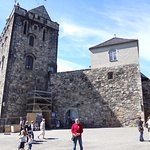 Старт прогулки по замку