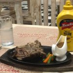 350g steak