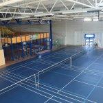 Badmintonfläche