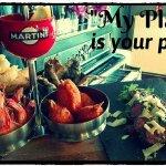 heerlijke tapas/ vis en vleesgerechten  in een plaats waar je je thuis voelt
