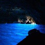 Blaue Grotte (Grotta Azzurra) Foto