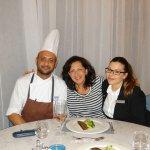 With Andre Spiteri and Araceli Garcia