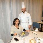 With the Executive Chef, Ryan Marmara