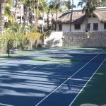 Private Lighted Tennis Court and Pickle Ball.