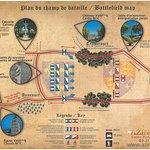 Kaart historische route & ligging museum