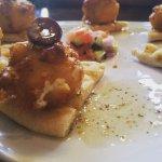 Fried feta - Adelphia Sports Bar and Grille