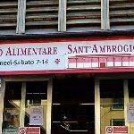 The Mercato di Sant' Ambrogio entrance