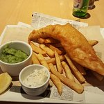 Lovely fish and chips !!