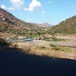 through the Umgeni river valley