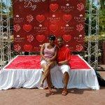 Valentines love at the Dreams Resort & Spa La Romana