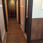 New remodel. Private dinning rooms.