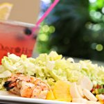Croc's serves fresh salads with regional ingredients.