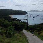 Uphill hike from Saline Bay