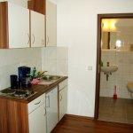 Küchenzeile in den Apartments