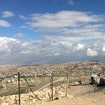 view of Bethlehem's hills