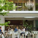 The Lobby Lounge and RawBar Exterior