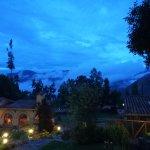 Amanecer desde mi ventana Valle Sagrado de los Incas !Inmejorable Vista