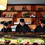 Enjoy authentic Chinese cuisine, sake and our innovative sushi bar.