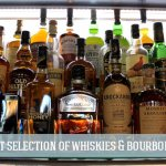 Pleanty of Whiskies and Bourbons to Choose From