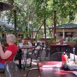 Beautiful patio at Ruth's