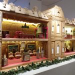 Replica gingerbread house