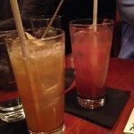 Delicious Dark and Stormy, Watermelon/Kiwi Lemonade too sweet.