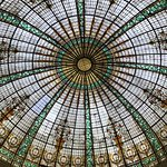 Stain glass dome