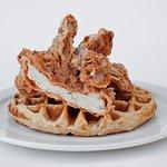 Chicken & Waffles (credit: Vanessa Escobedo Barba)