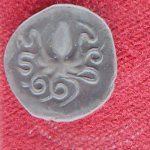 Octupi were a common theme for early Greek coins