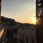 View left of Acropolis