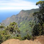 A view from the Pu'u O Kila Lookout,