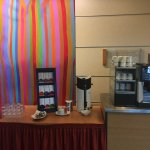 Coffee station near meeting rooms