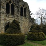 Some of the topiary.