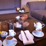 Afternoon tea at the Norfolk Mead Hotel, Coltishall