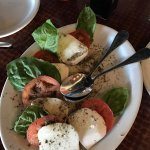 Must start with the Caprese Salad