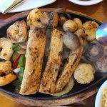 Grilled Seafood Fajitas