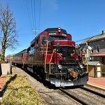 Overlooks the New Hope Railroad