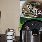 Coffee Machine in Lobby