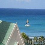 sail boat near the beach