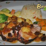 Chef's Spice's Mango - Banana Chutney Jerk Pork Loin