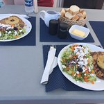 Great meal before leaving the coral reef. Grilled right on the boat! And you must try the butter