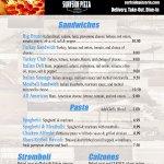 Sandwiches, Pasta, Stromboli, and Calzones