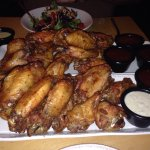 Meaty crispy wings! Selfish!