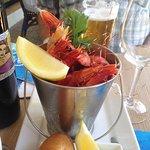 Morton Bay prawns?