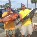 Red grouper and Wahoo
